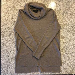 Tahari Pure Lux Cashmere Cowl-neck Sweater